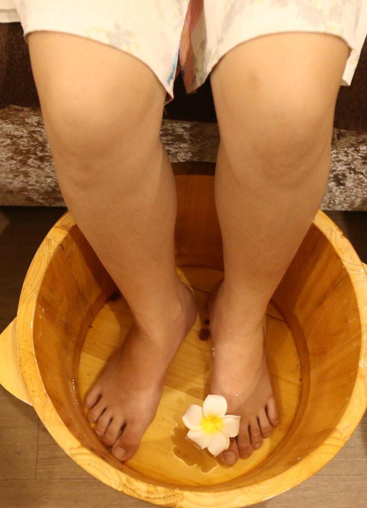 Quy trình foot massage